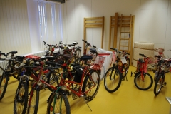 Viele Fahrräder wurden gewünscht