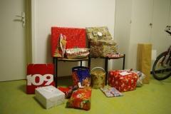 Die Geschenke warten darauf abgeholt zu werden